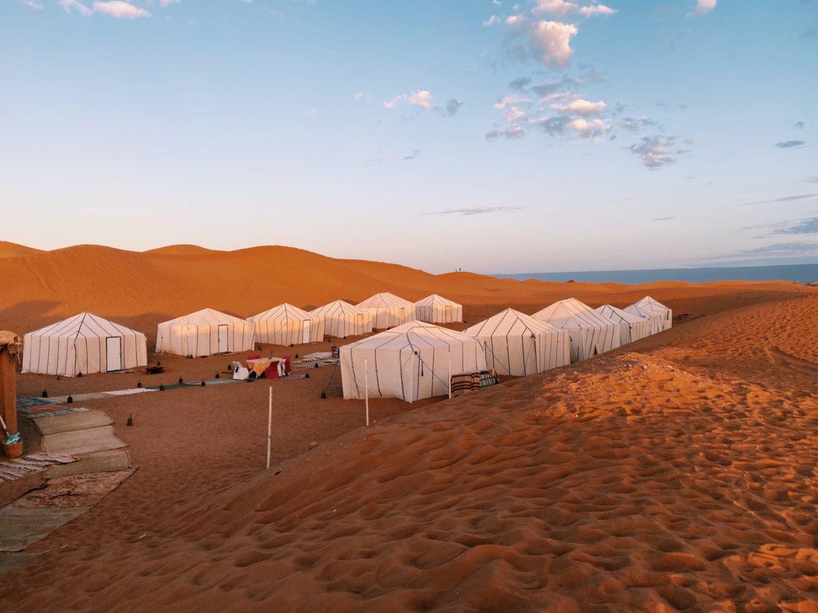 campement desert maroc