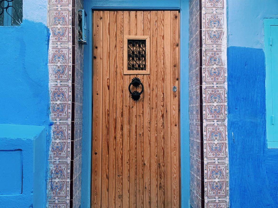 porte bleue chefchaouen